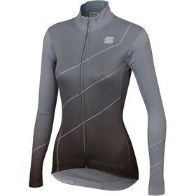 Sportful Shade Maillot manga larga Mujer, cement/black